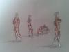 cours de dessin et morphologie d'un atelier à l'autre