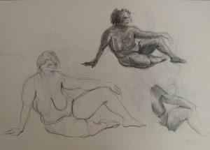 cours de morphologie et dessin académique