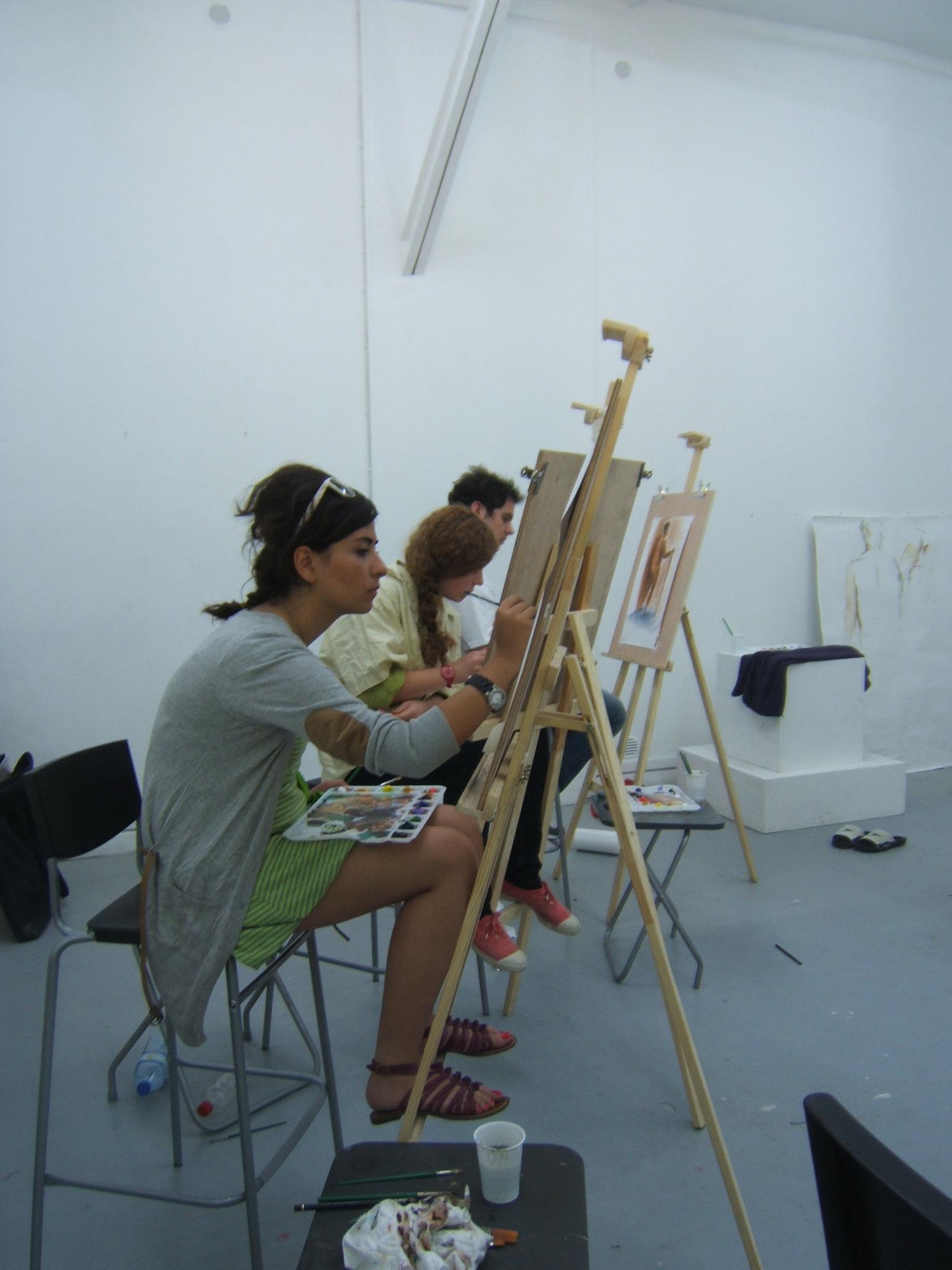 stage techniques de la peinture à l'huile