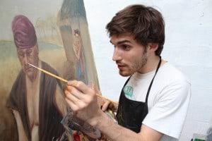 cours de peinture atelier