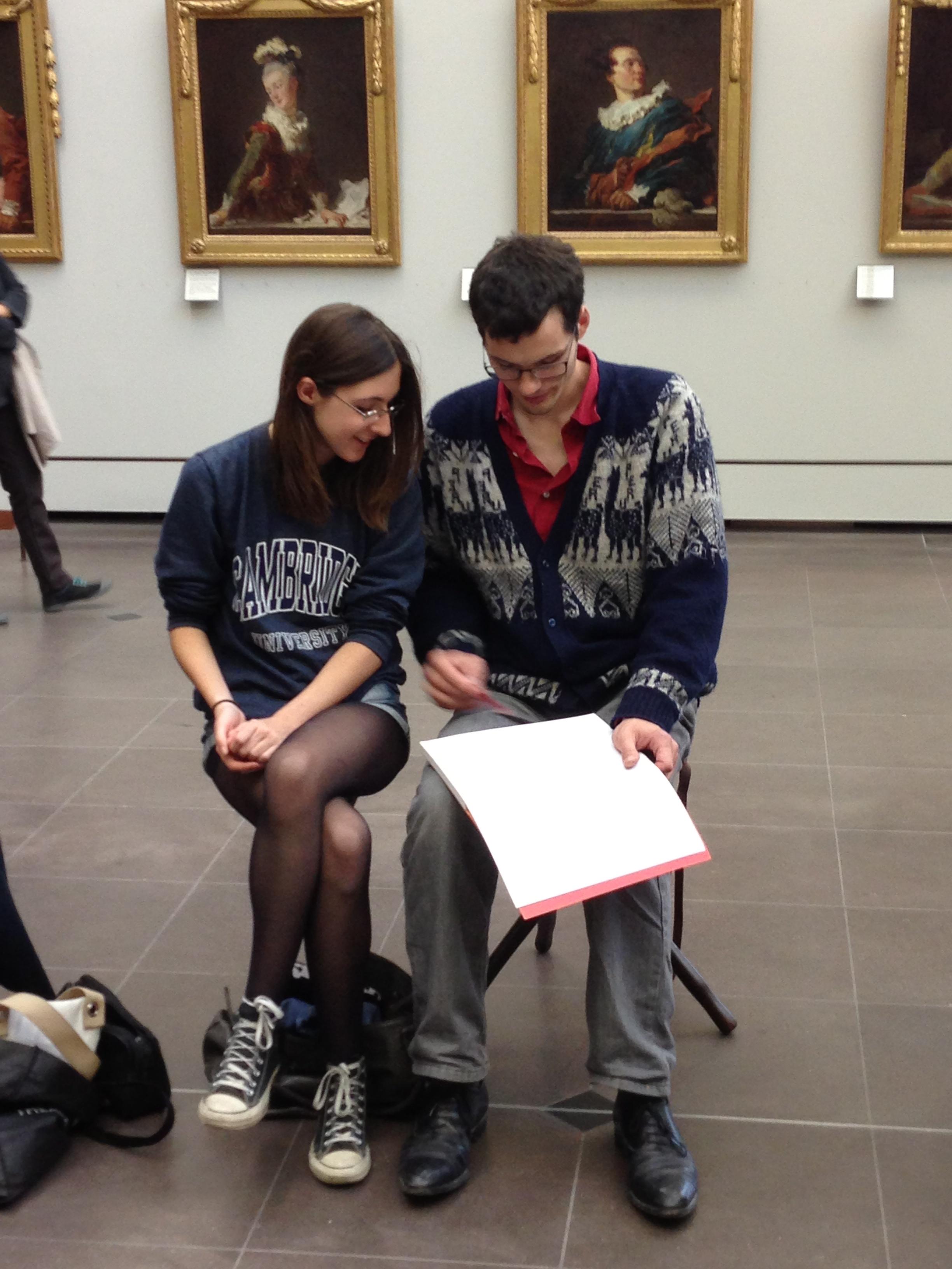 Cours de dessin au Louvre avec Michel Perot