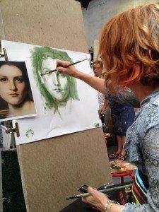 peindre portrait