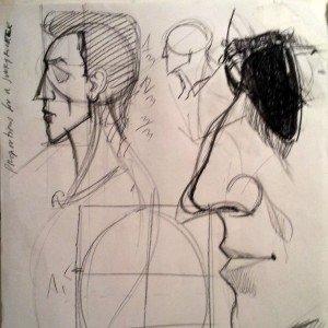 cours dessiner un portrait