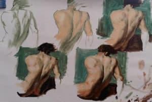 cours de peinture débutant
