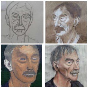 stage portrait dessin peinture