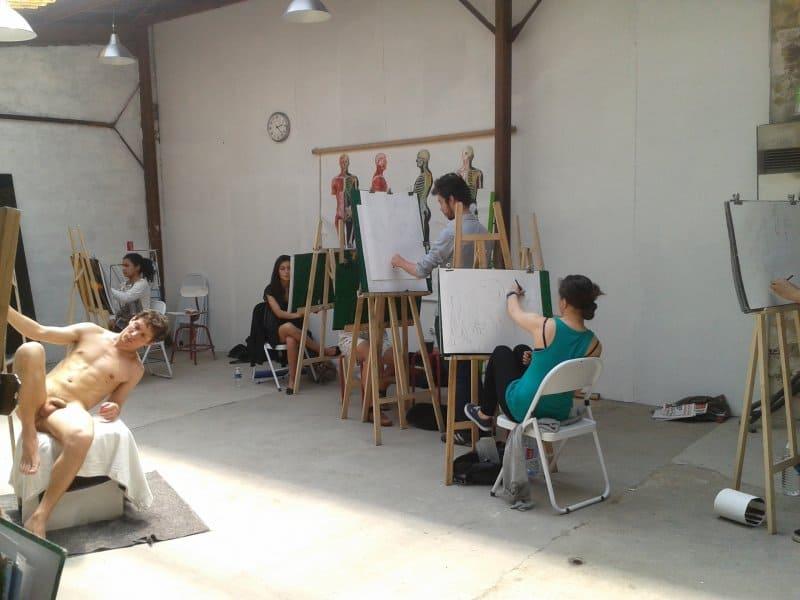 Atelier 1 ter - atelier de dessin du collectif daal - Filip et Charlotte Mirazovic