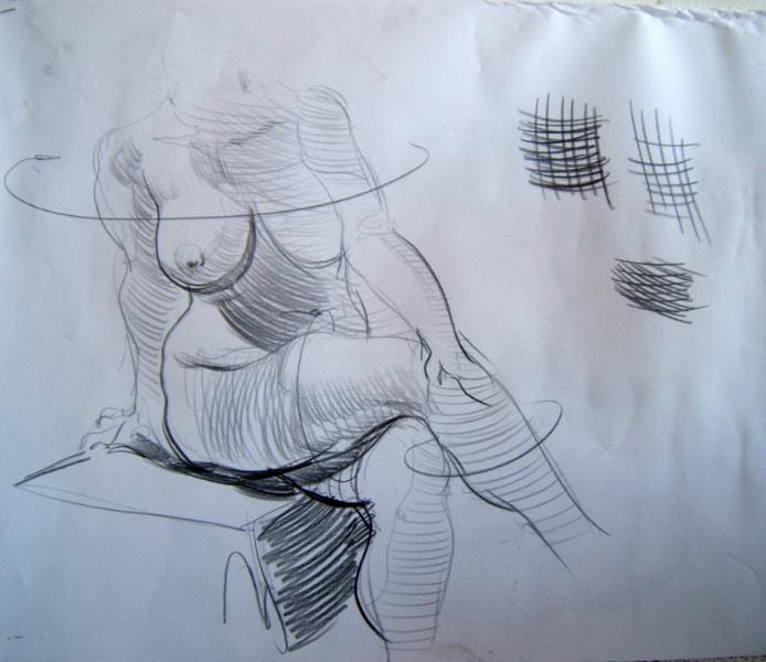 stage dessin morphologie artistique