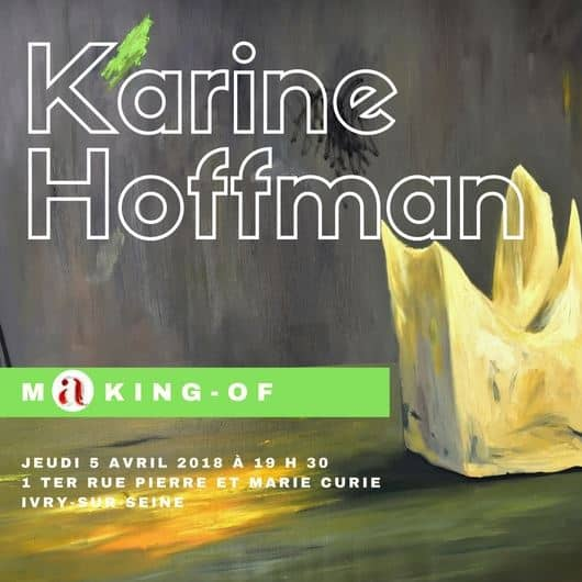 conférence d'artistes Karine Hoffman