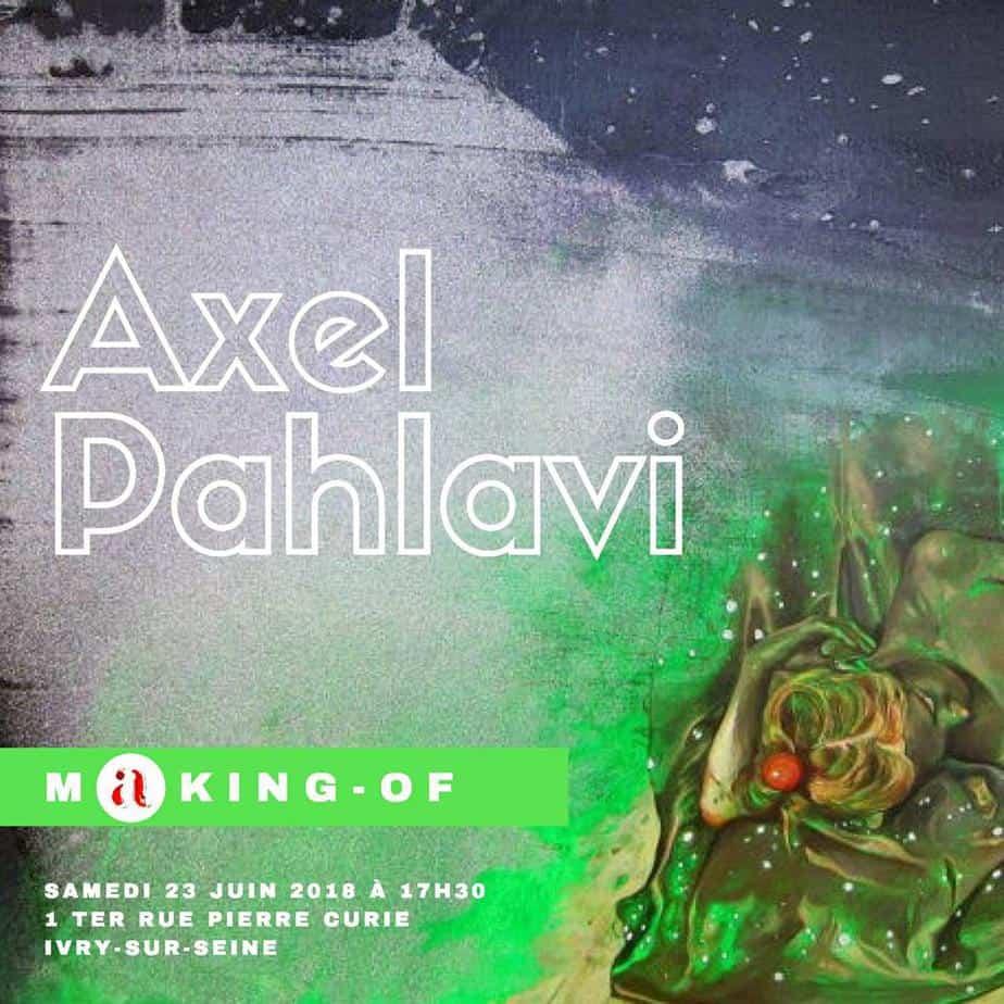conférence d'artistes Axel Pahlavi
