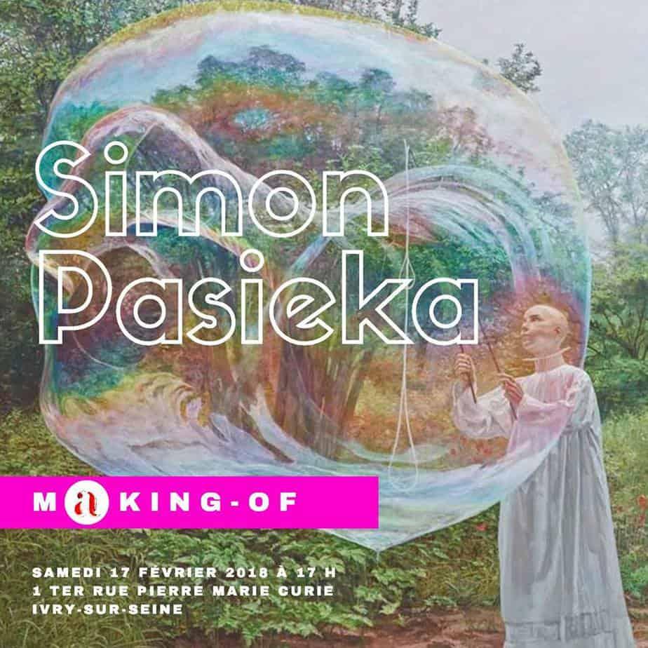 conférence d'artistes Simon Pasieka