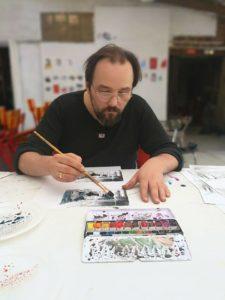 artistes enseignants Filip Mirazovic