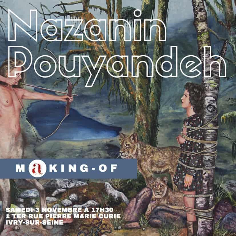 conférences d'artistes Nazanin Pouyandeh