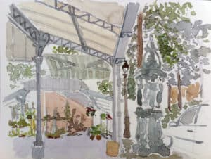 stage aquarelle paris