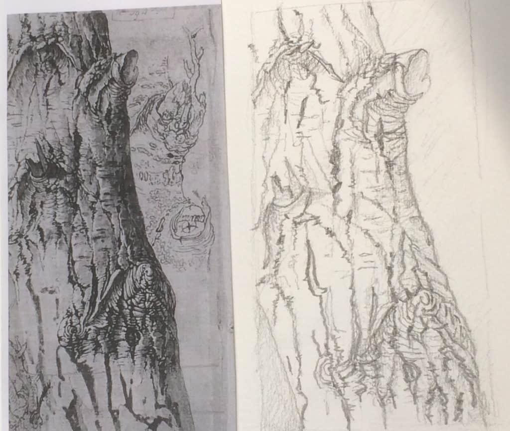 Dessiner un paysage structure profondeur lumi re - Dessiner un paysage ...