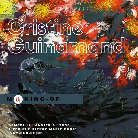 conférences d'artistes Cristine Guinamand