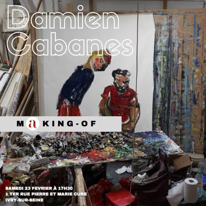 conférences d'artistes Damien Cabanes