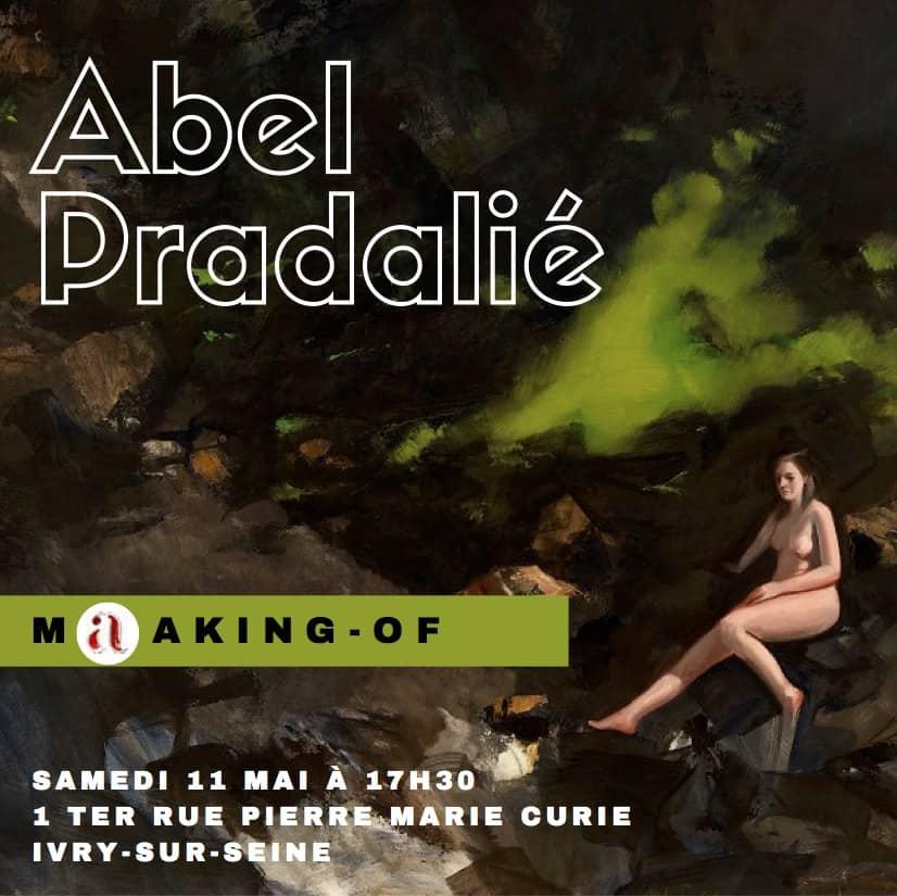 conférence d'artiste Abel Pradalié