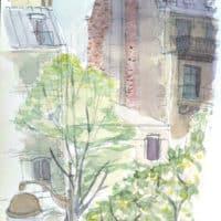 stage d'été de dessin et peinture