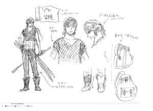Fiche personnage de Zoro Roronoa par Eiichiro Oda