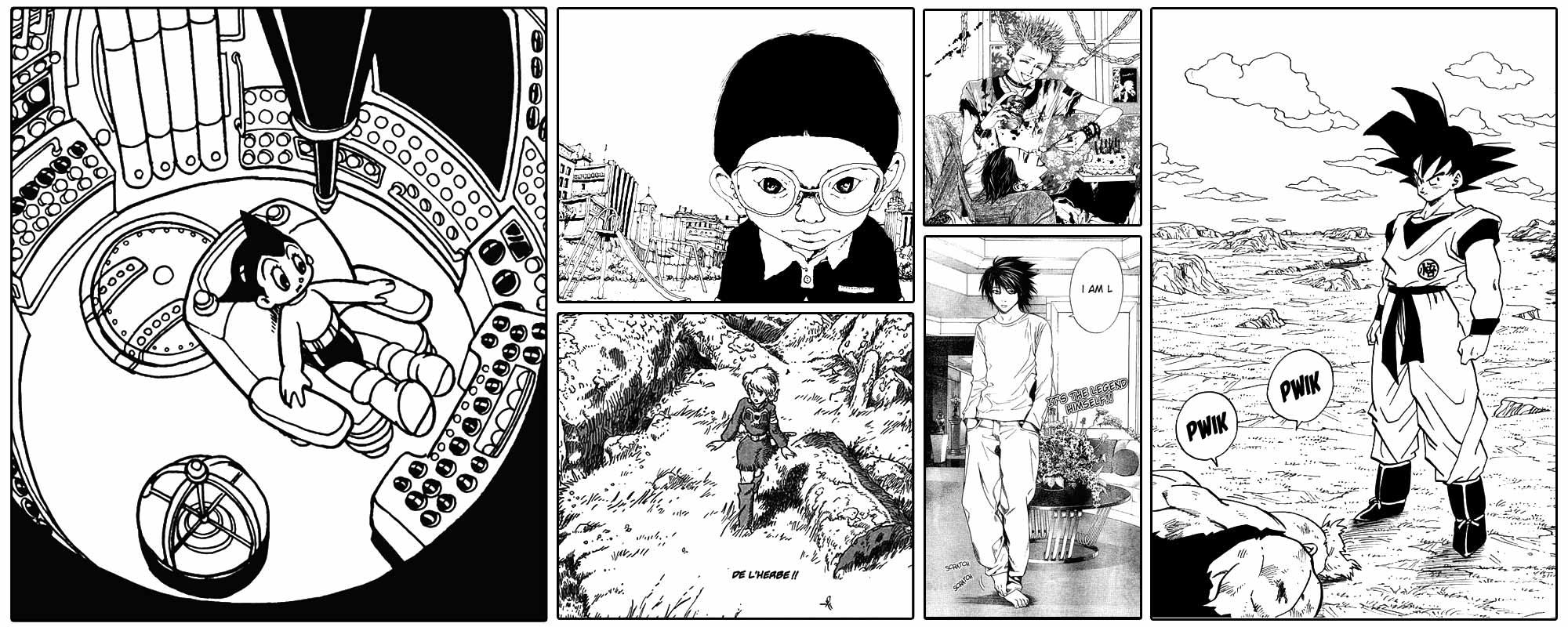 Stage Manga - Personnages et décors
