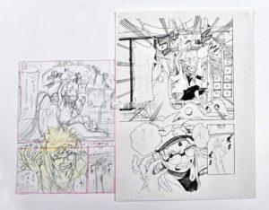 Storyboard samourai and son de Masashi Kishomoto