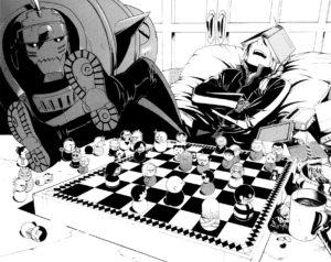 Extrait de Full Metal Alchemist par Hiromu Arakawa