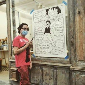 Olivier Figueroa, professeur du cours de manga