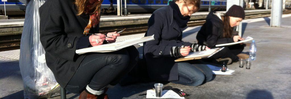 cours de dessin à Paris et Ivry