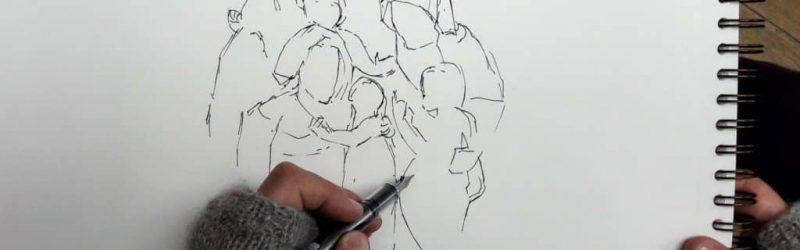 dessin-louvre-Paris